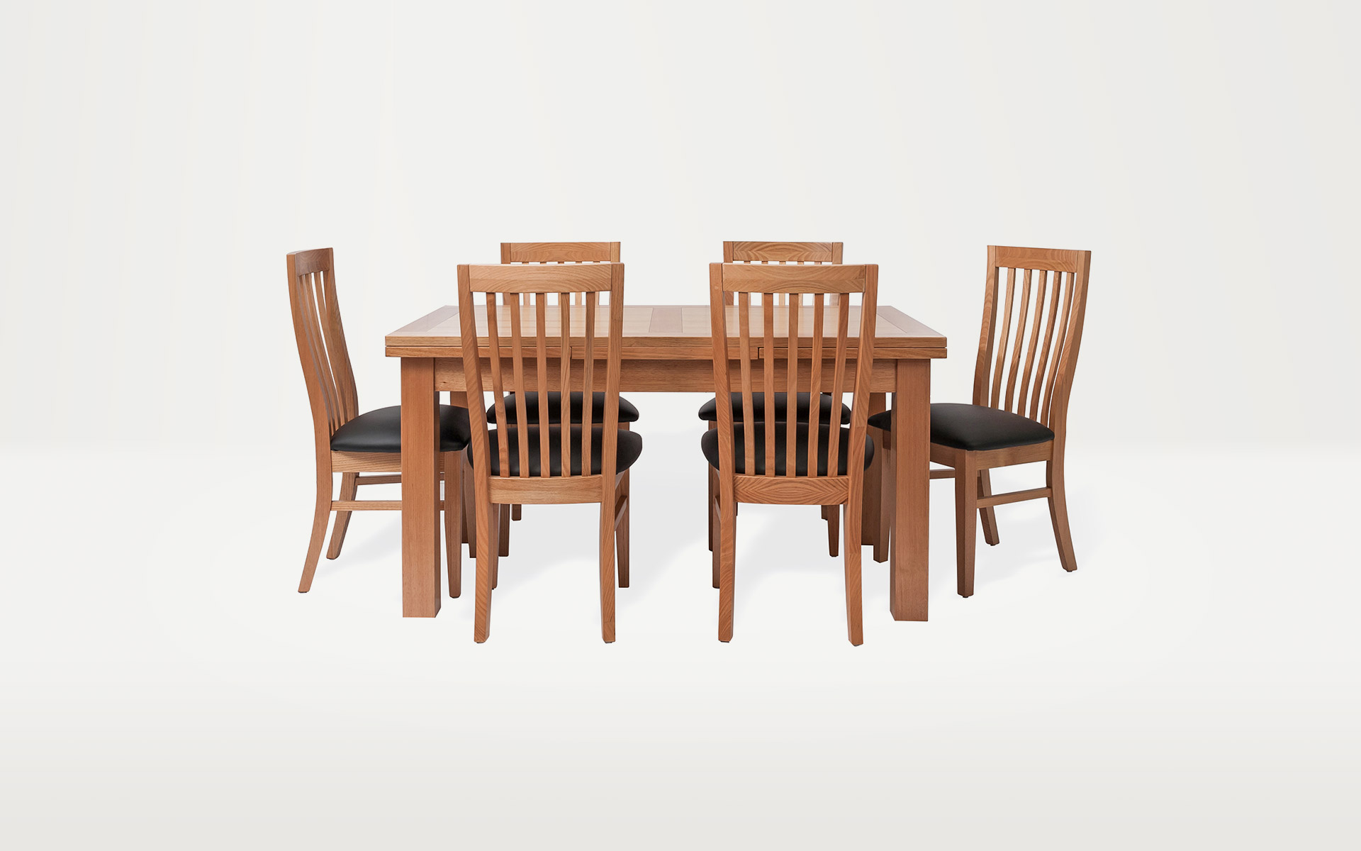 Nova Tassie Oak Extension Table Berkowitz Furniture