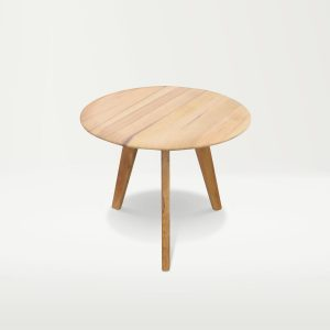 berkowitz small timber round dining table